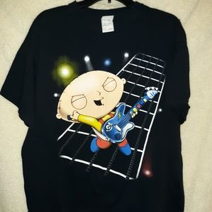 Family guy stewie t Shirt size xl